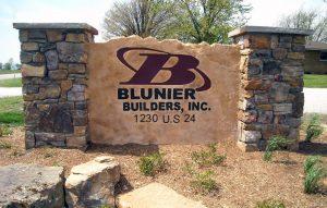 Custom Boulder Sign Monument Sign