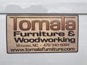 Tomala Custom RVG Reusable Sign