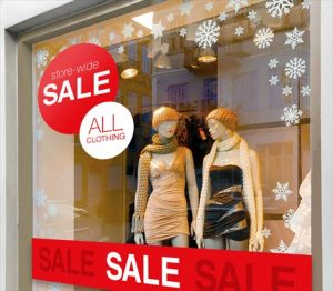 Window Signs promotional sign 2 300x262