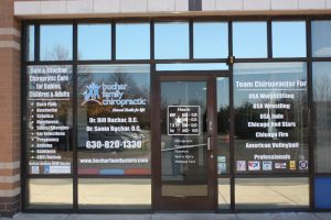 Office Signs Copy of Chiropractic Office Window Decals 300x200